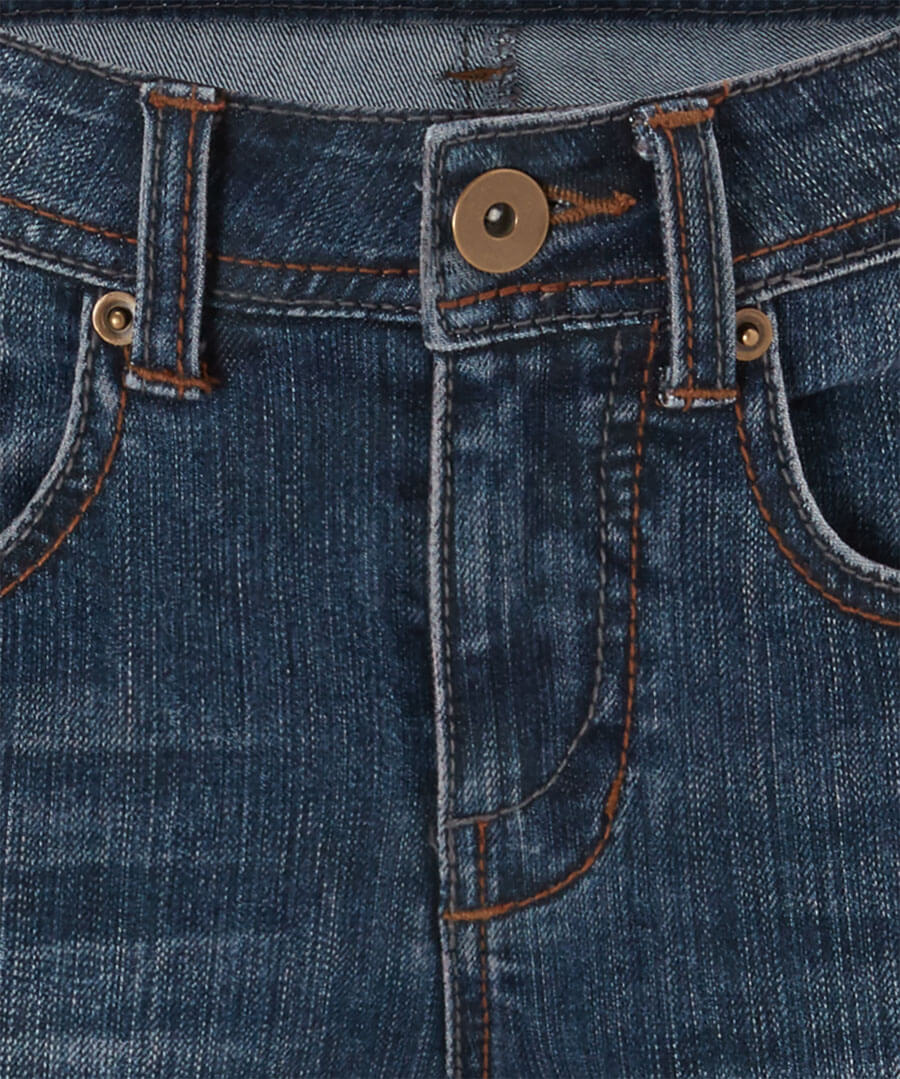 Essential Slim Mid Wash Jeans