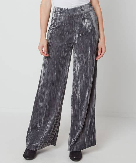 Beautiful Crushed Velvet Trousers