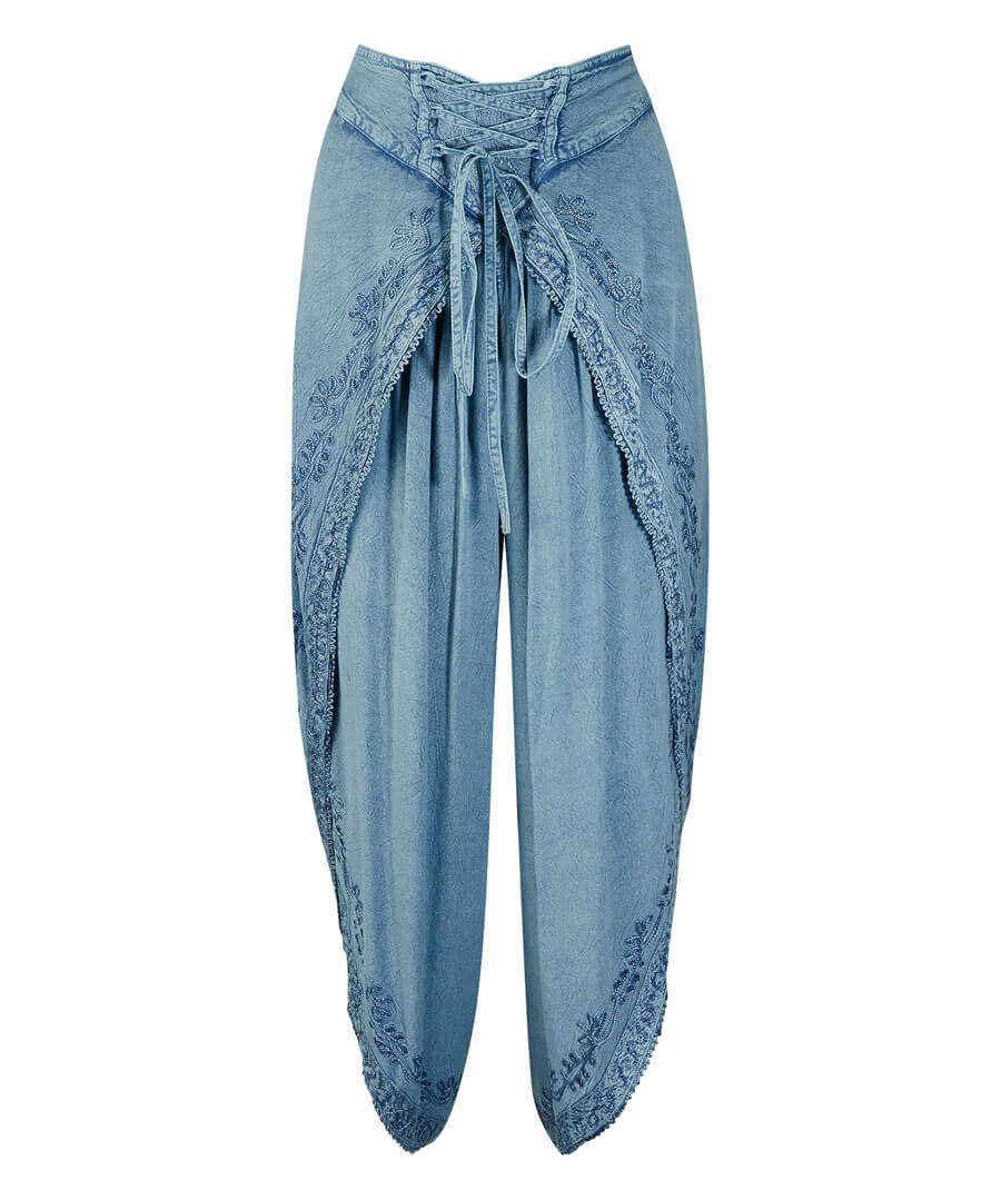 Exquisite Embroidered Trousers