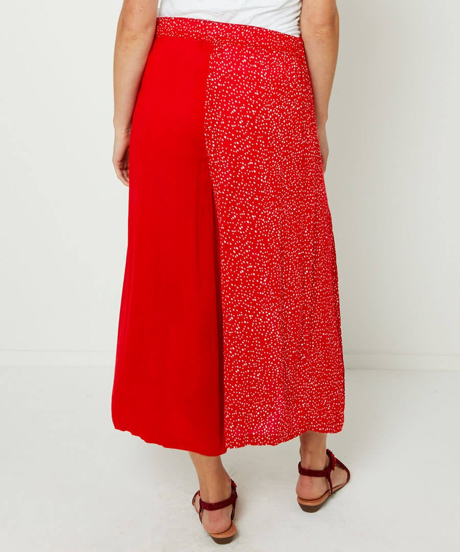 Join The Dots Cropped Trousers Model Back