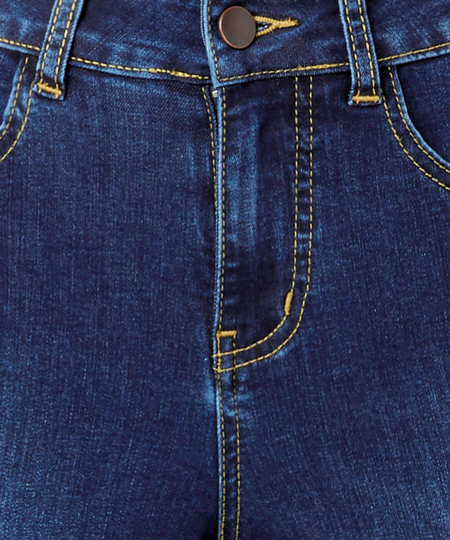 Western Bootcut Jeans Back