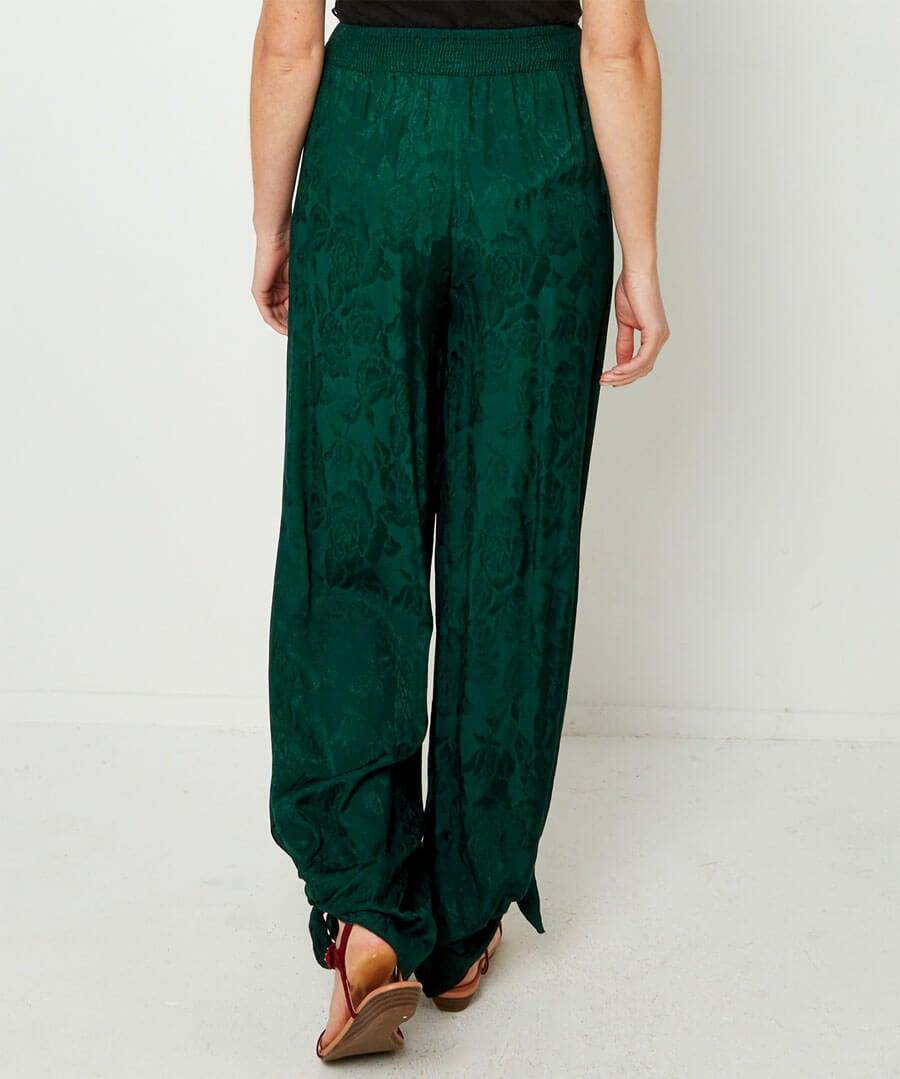 Joyful Jacquard Trousers Model Back