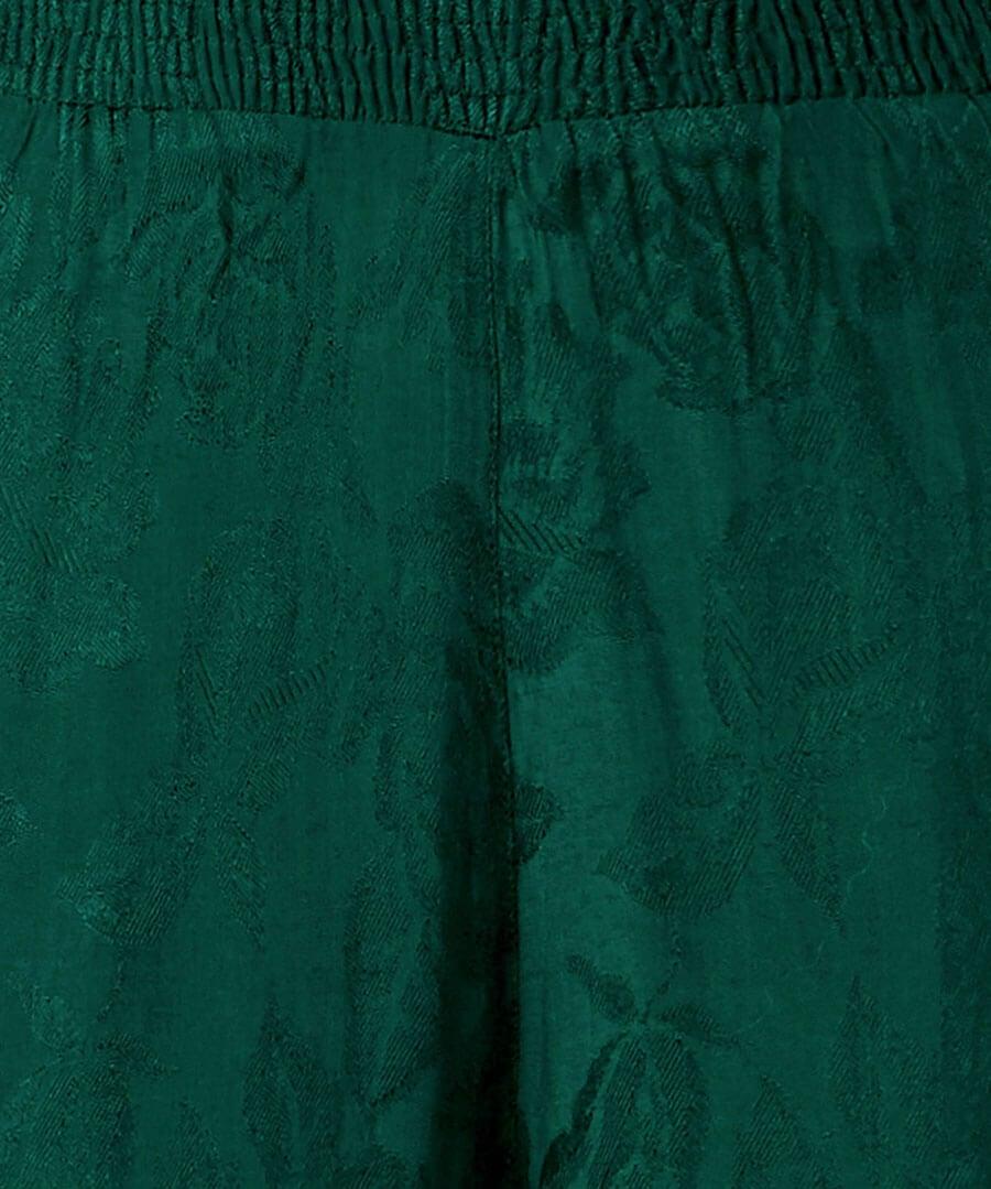 Joyful Jacquard Trousers Back