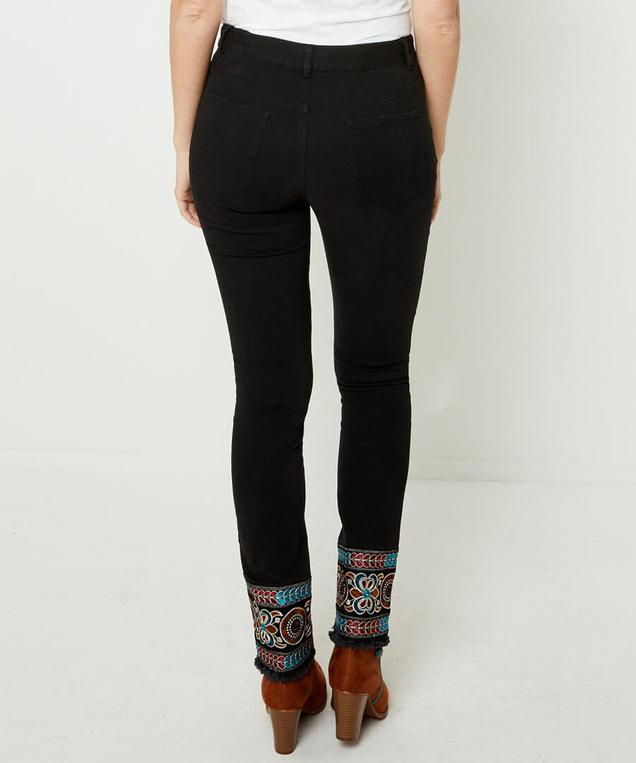 Ibiza Embroidered Jeans