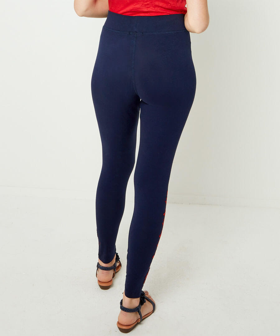 Leisurewear Leggings Model Back