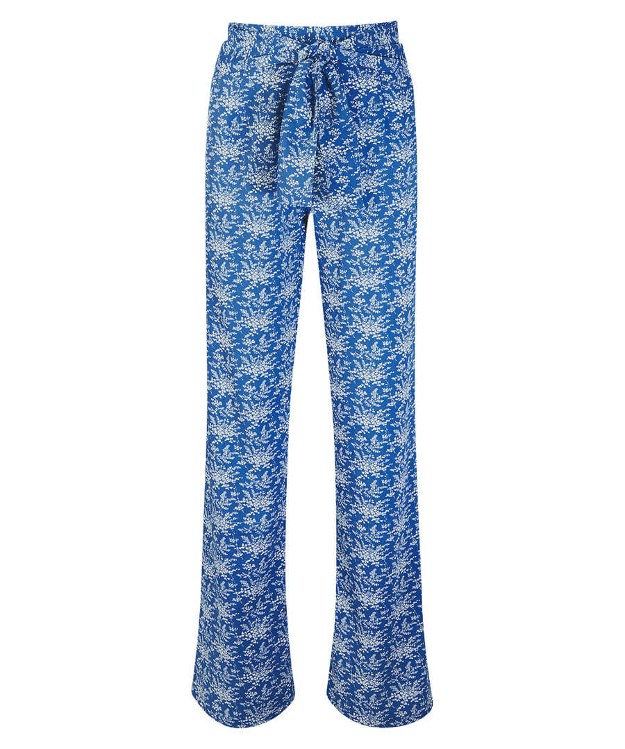 Pretty Printed Trousers Model Front