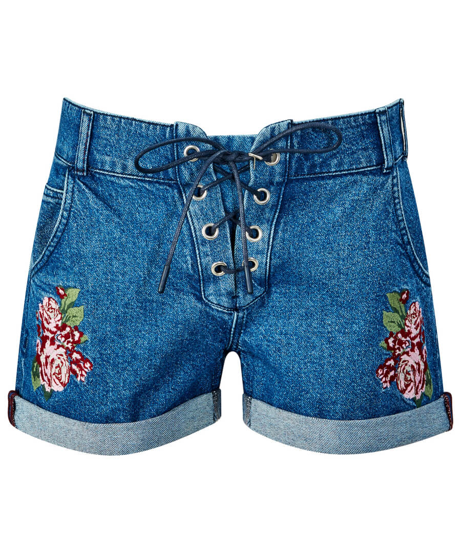 Festival Shorts Model Front