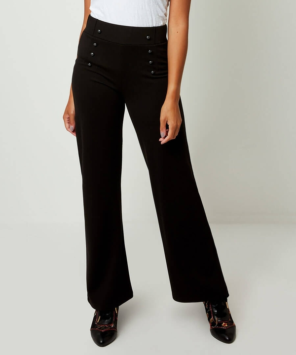 Ponte Military Button Trousers