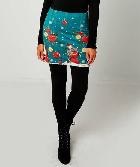 Christmas Skirted Leggings