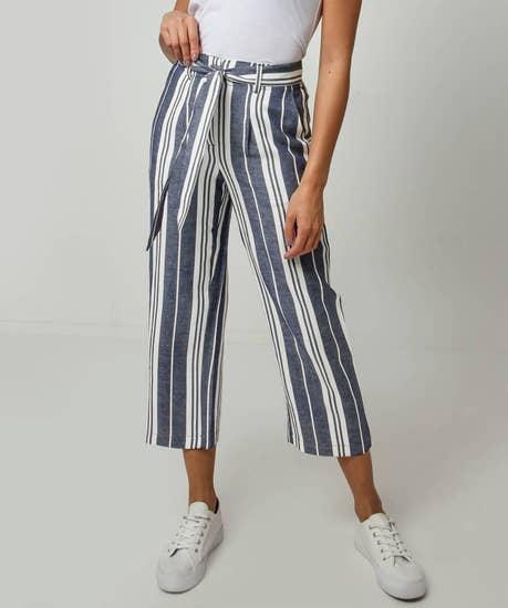 Striped Summer Culottes