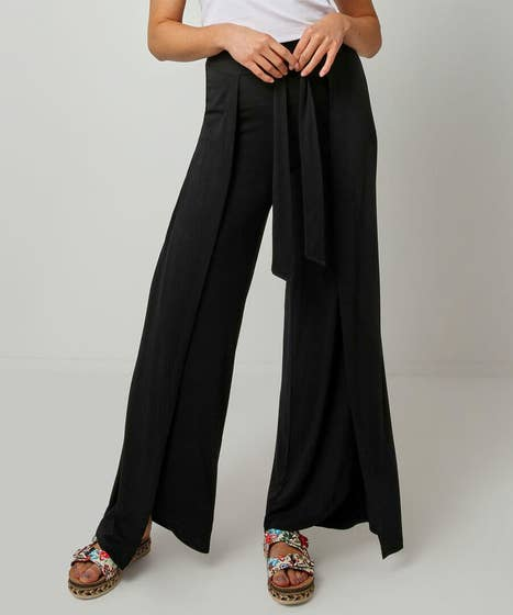 Wrap Style Trousers