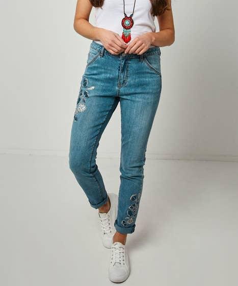 Amazing Applique Jeans