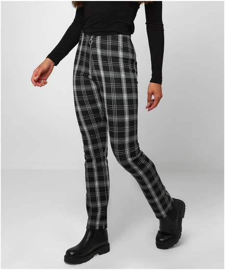 Joes Essential Check Trousers