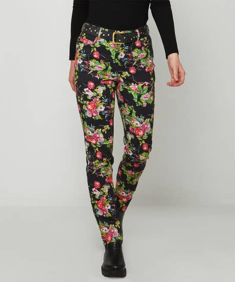 Funky Floral Jeans