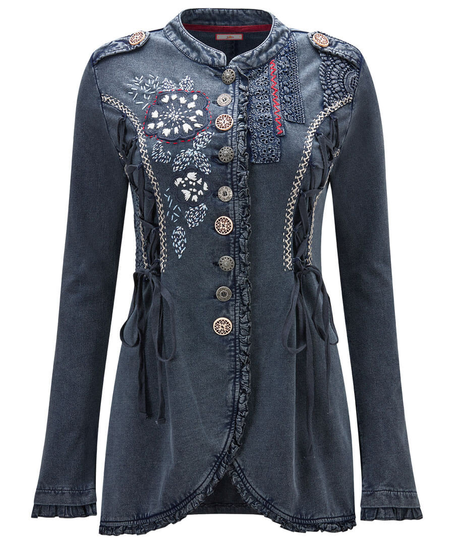 Boutiquey Embroidered Tunic