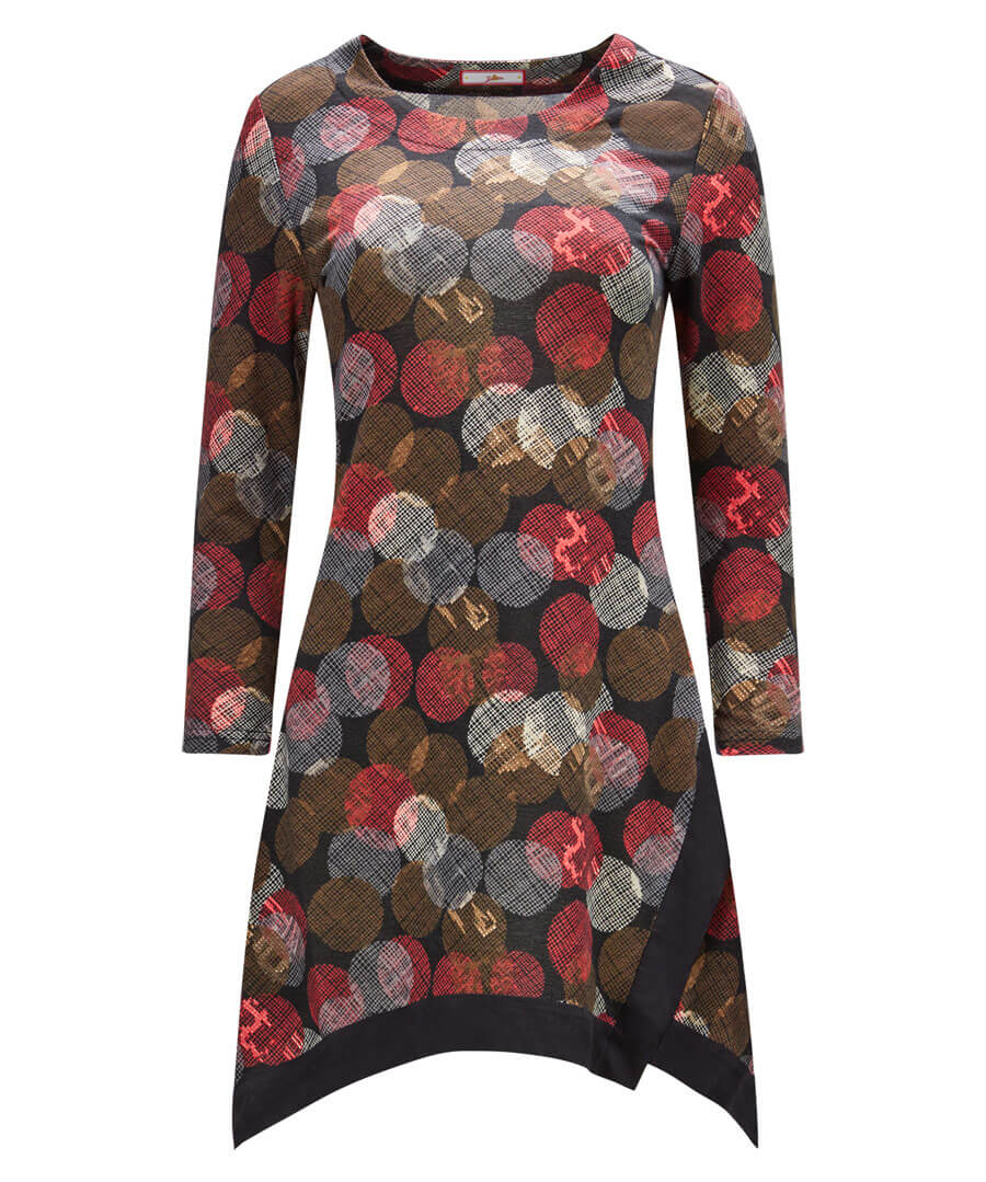 Going Dotty Tunic Model Front