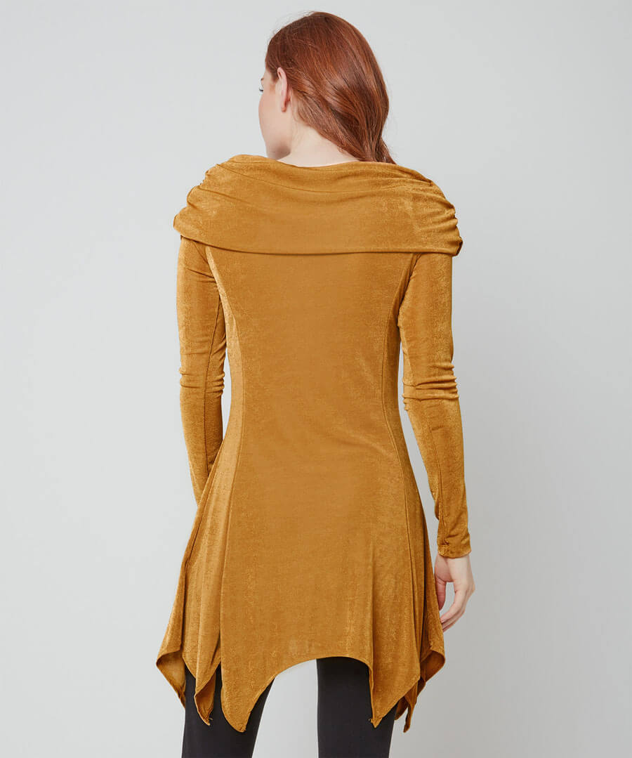 Super Slinky Tunic Model Back