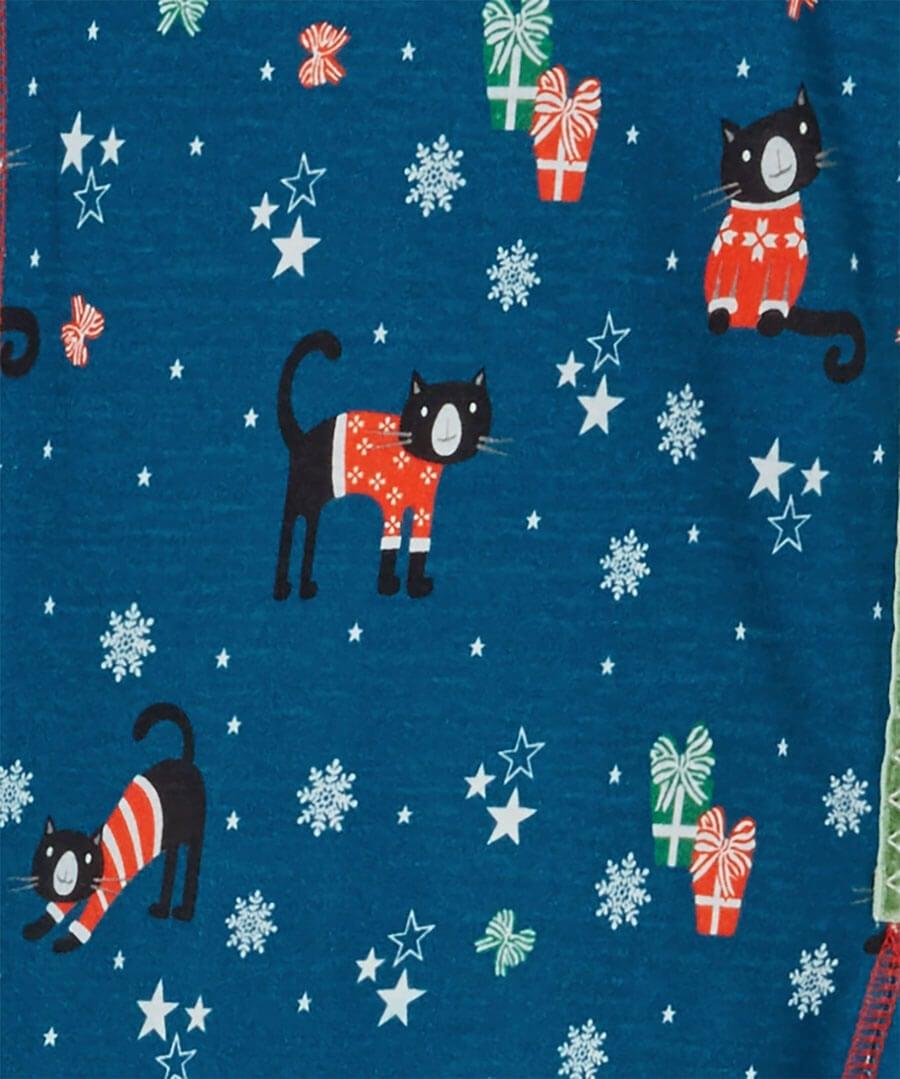Christmas Kitty Tunic Back