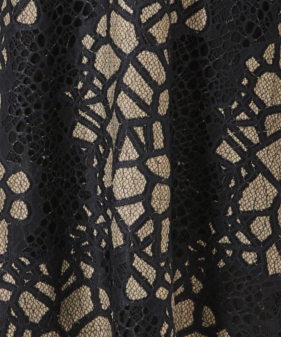Remarkable Lace Tunic Back