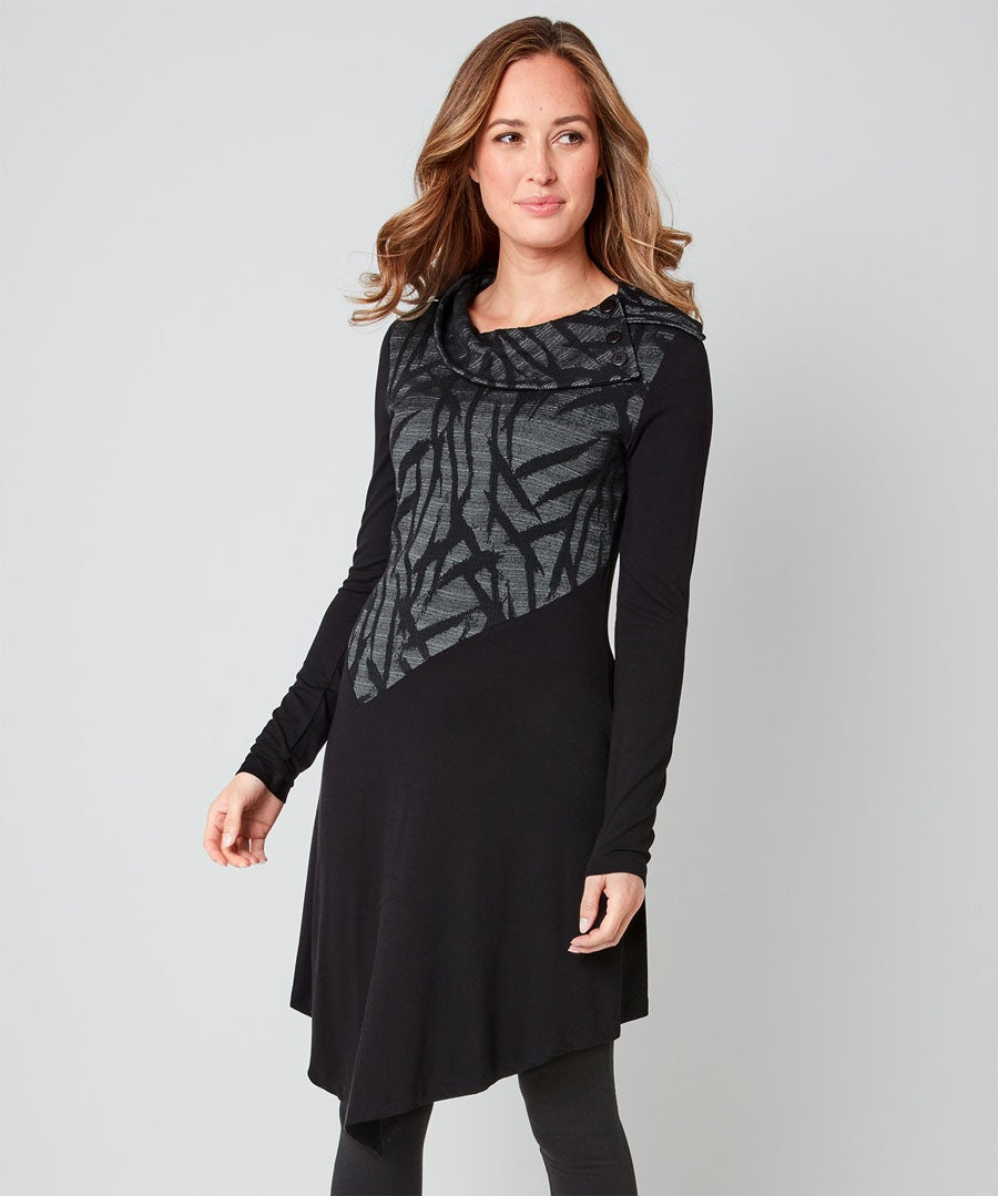 In The Shadows Tunic Model Front