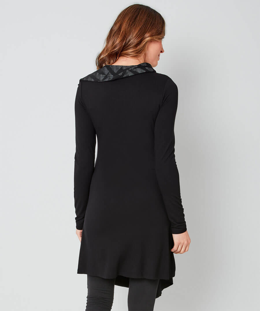 In The Shadows Tunic Model Back