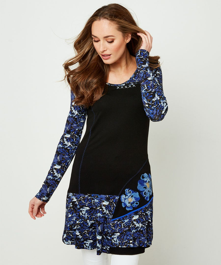 Mix It Up Tunic Model Front