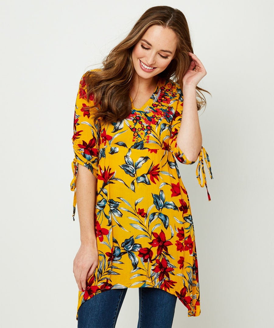 Ultimate Beachy Tunic Model Front