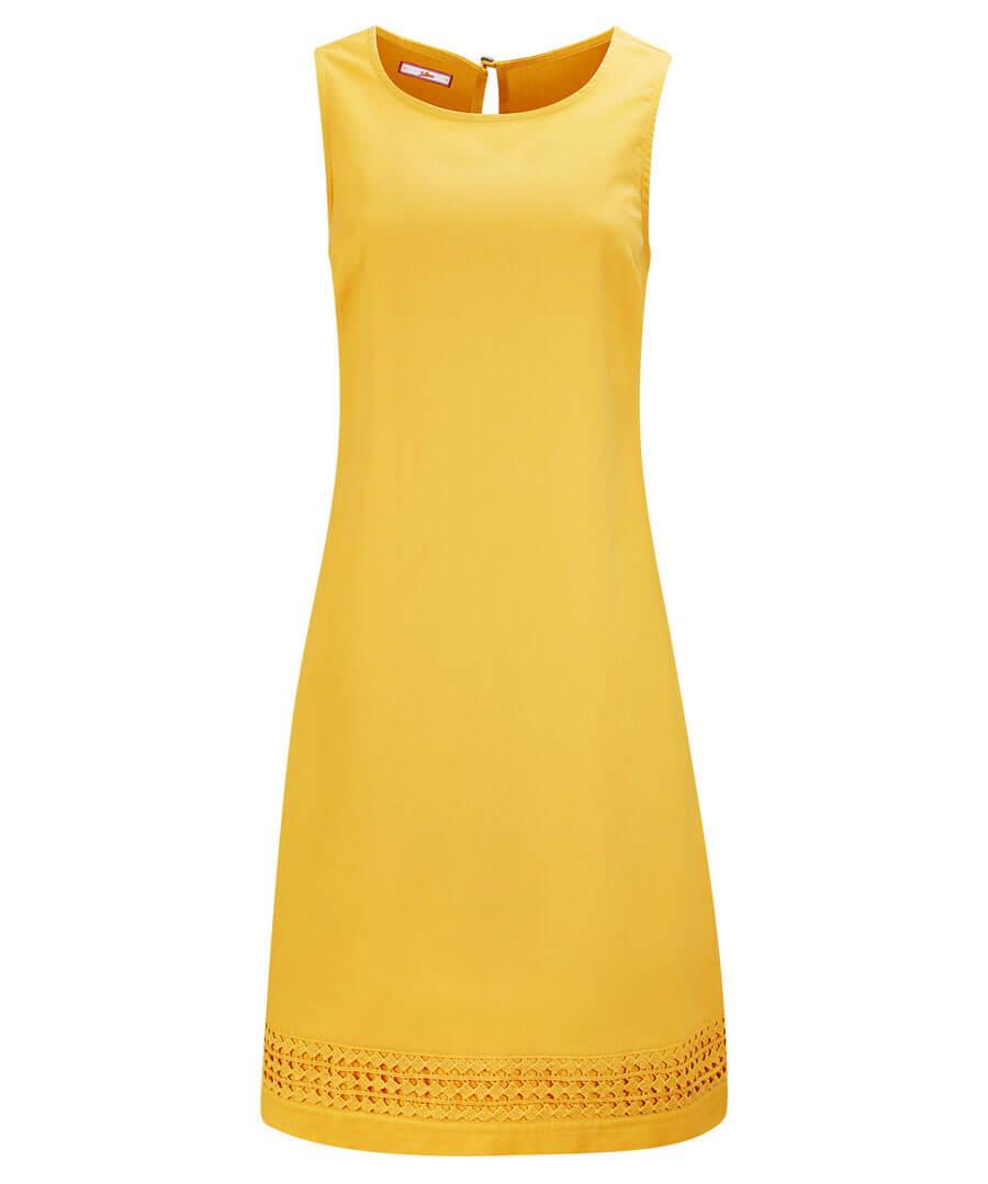 Lovely Mustard Tunic Model Front