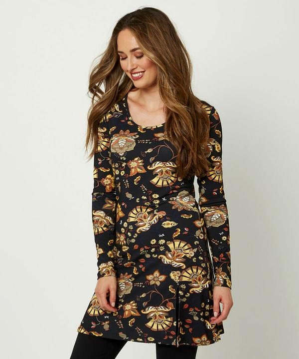 Autumnal Jersey Tunic