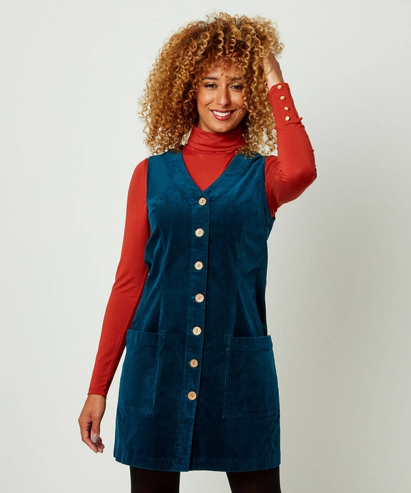Cracking Cord Tunic