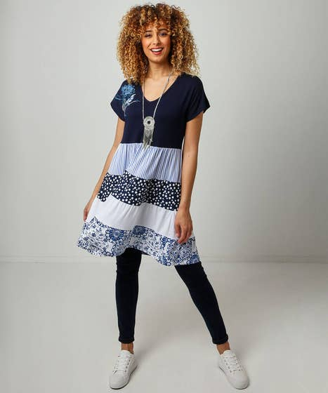 Spots And Stripes Tunic