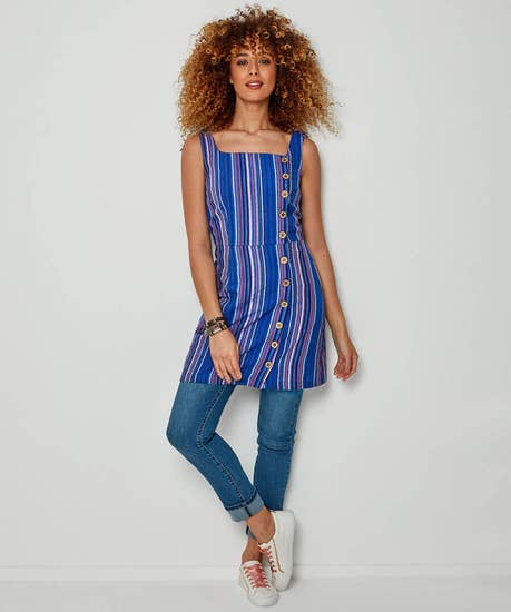 Sassy Stripe Tunic