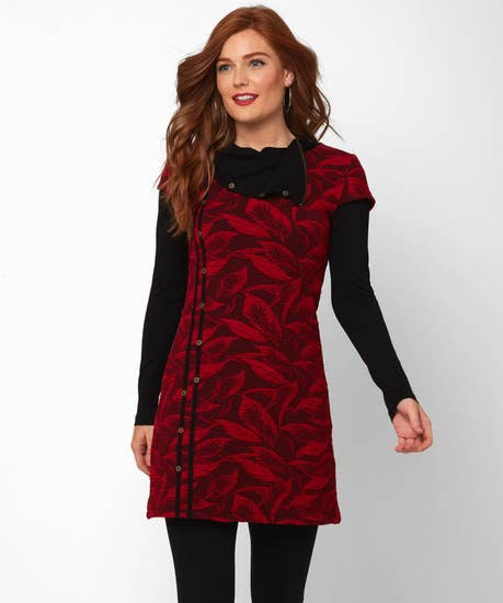 Lively Leaves Tunic