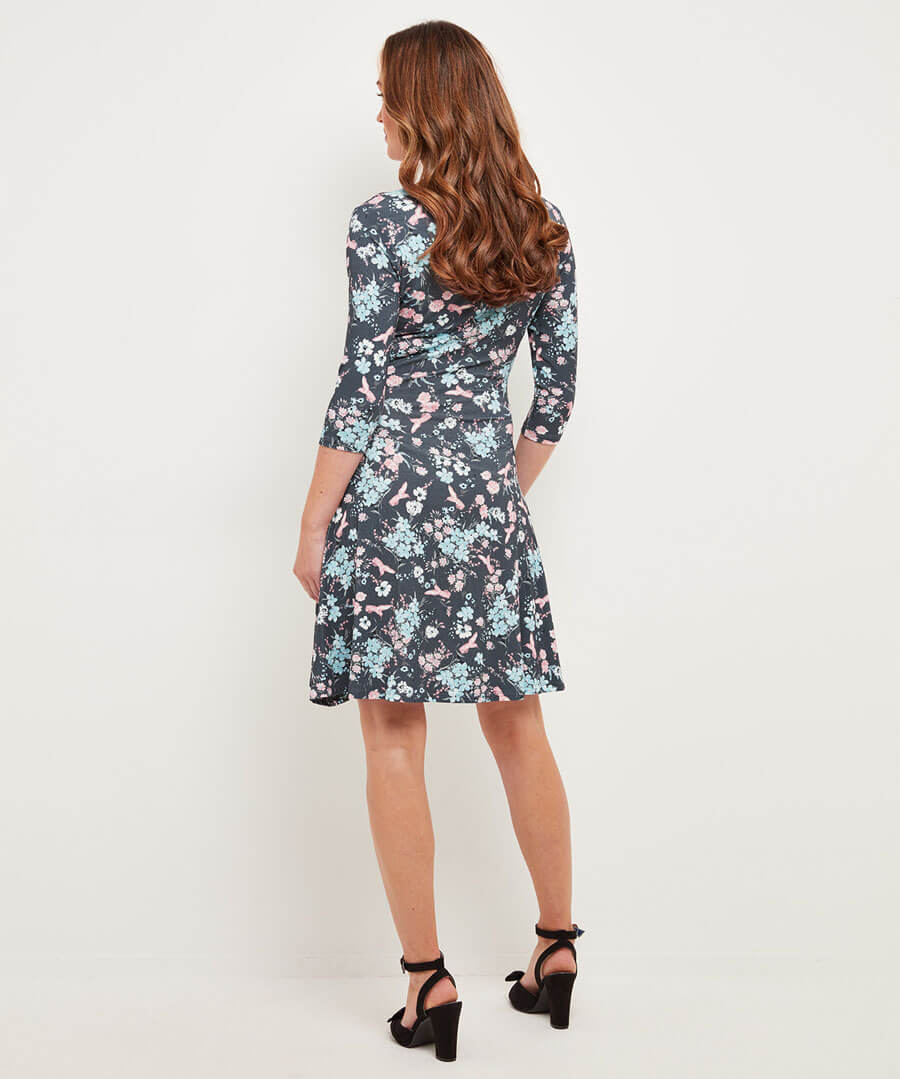 Lost In A Dream Dress Model Back