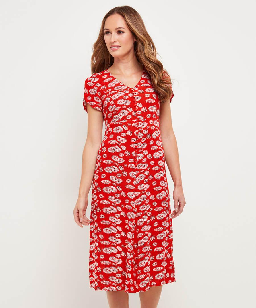 Sizzling Summer Dress Model Front