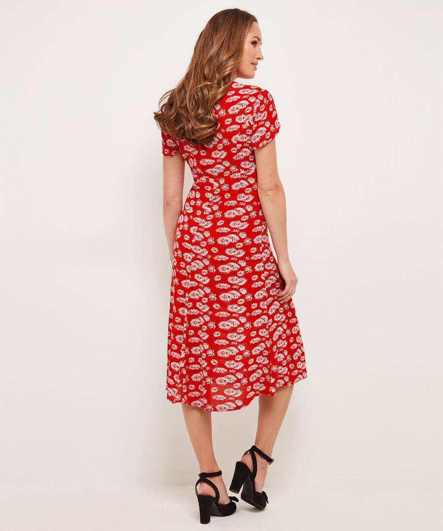 Sizzling Summer Dress Model Back