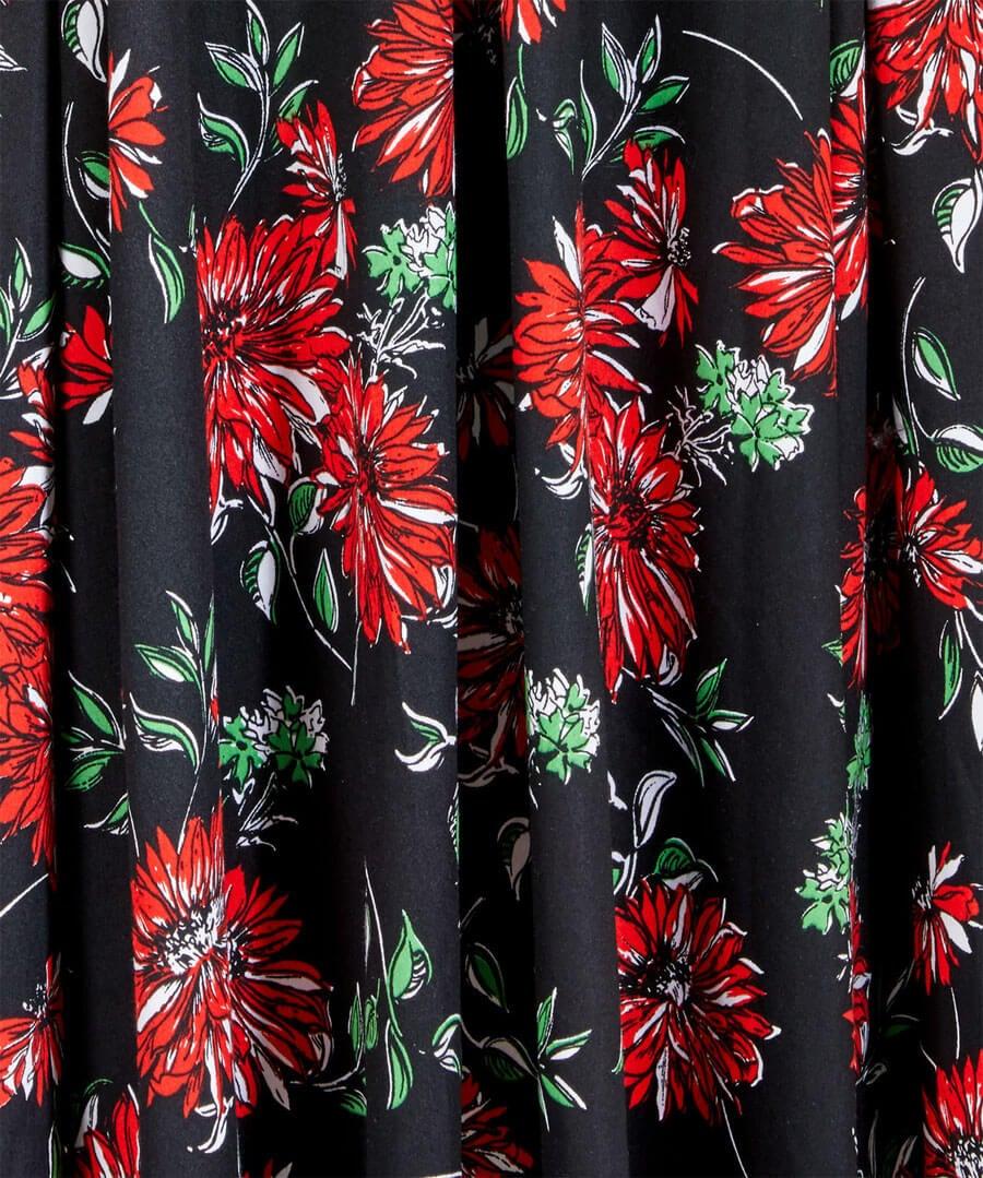 Romantic Floral Dress Back