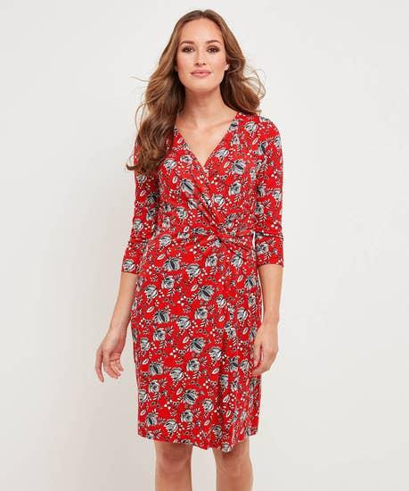Spontaneous Red Dress