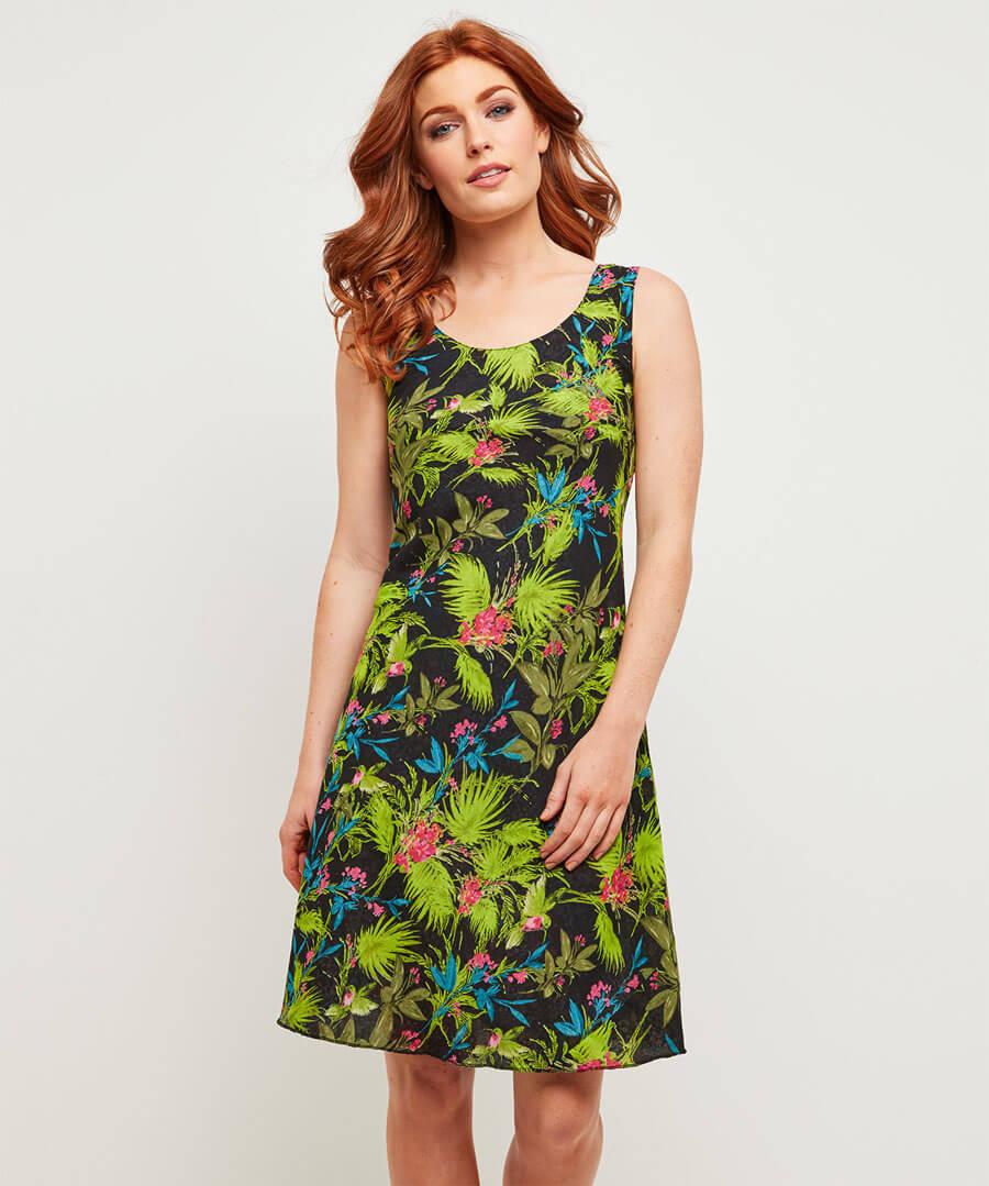 Ravishingly Reversible Dress Model Front