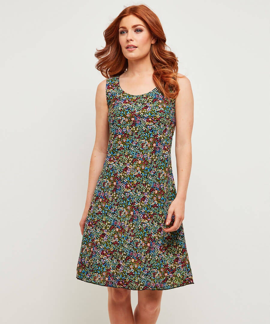 Ravishingly Reversible Dress Model Back