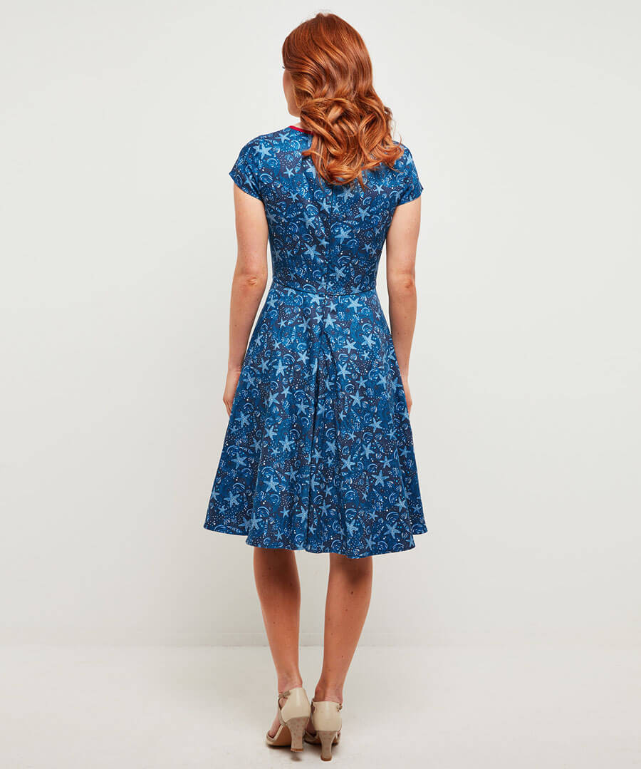 Starfish Dress Model Back