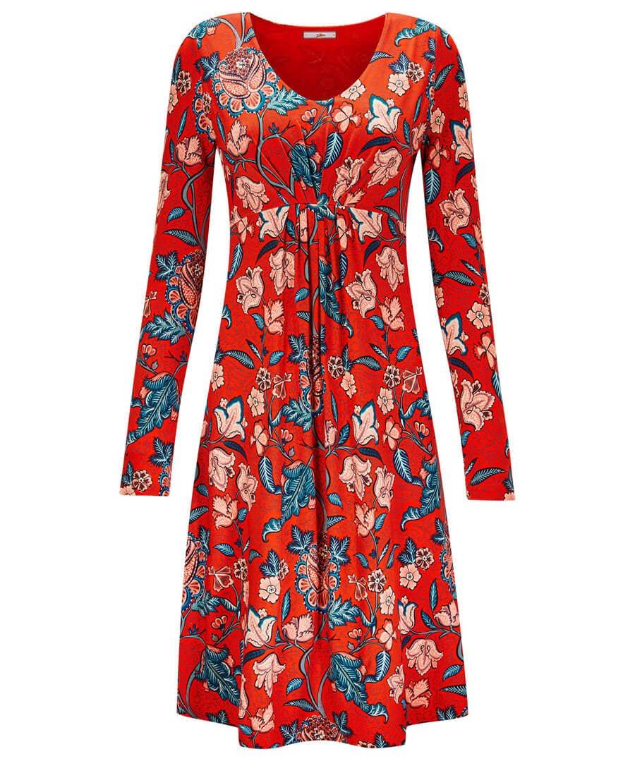 September Sun Dress Model Front
