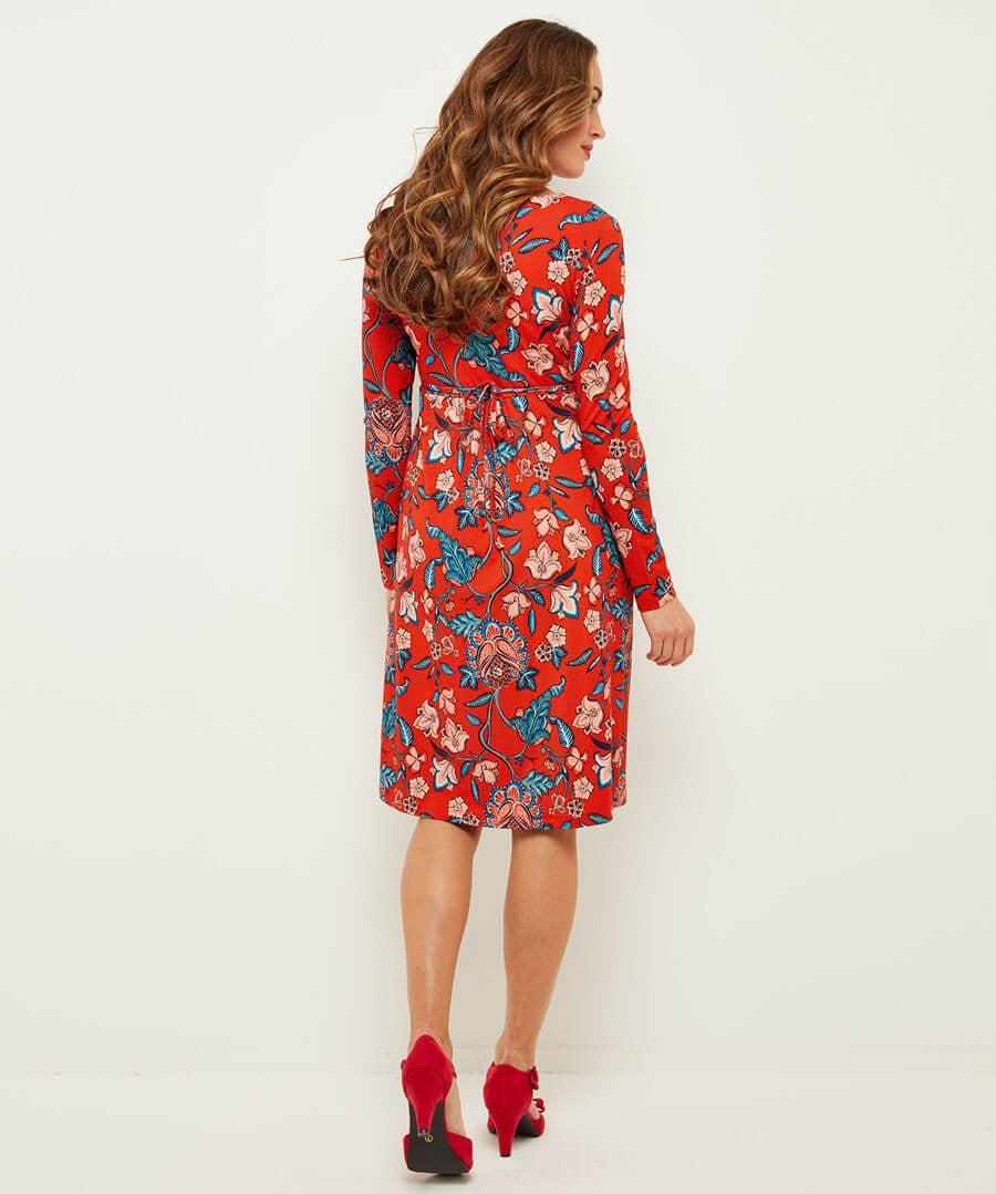 September Sun Dress Model Back