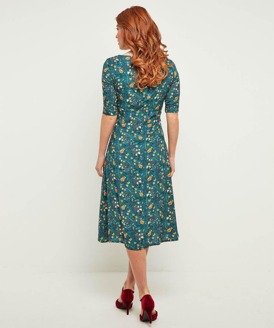 New Vintage Style Dress Model Back