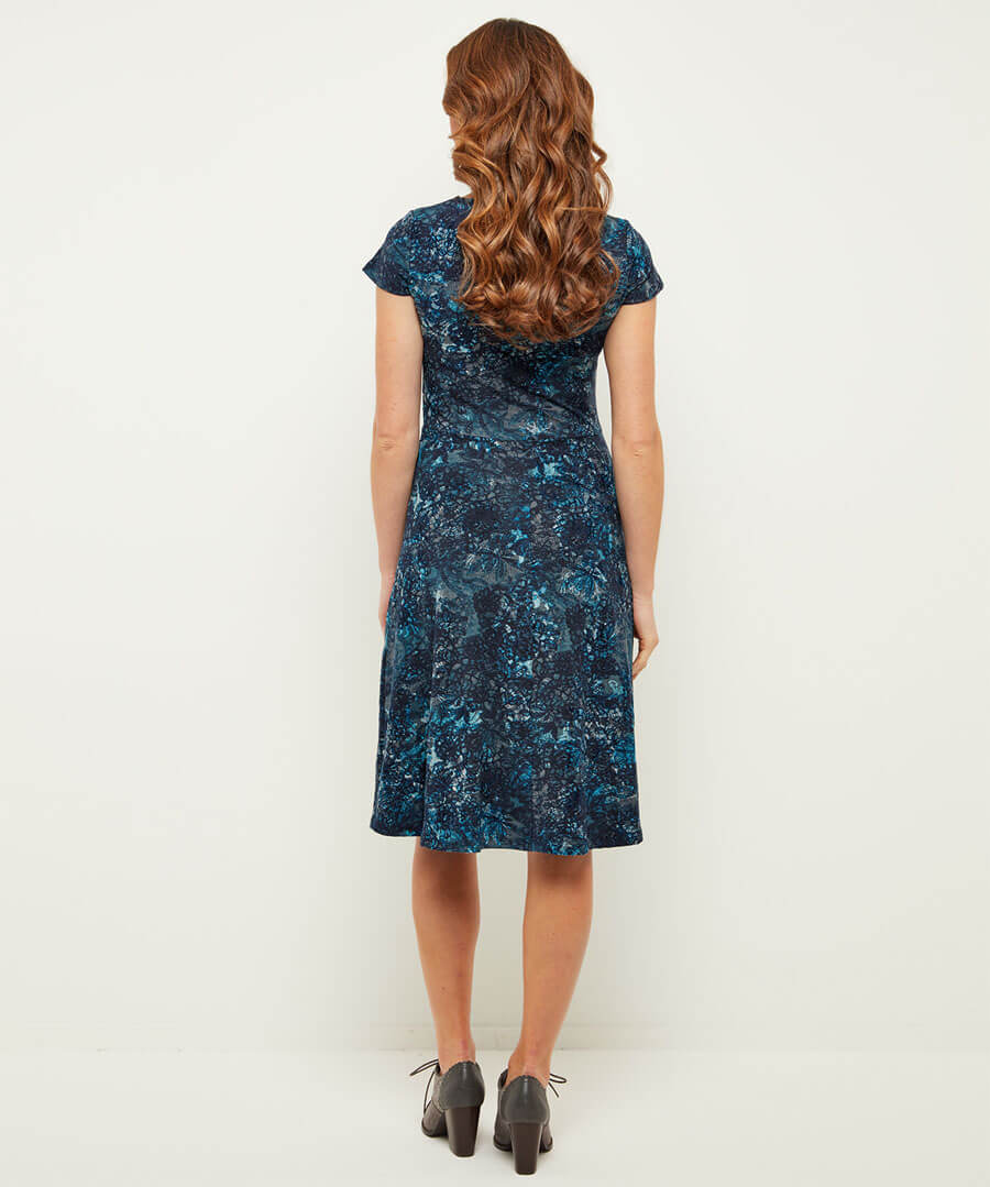 Fabulous Flocked Dress