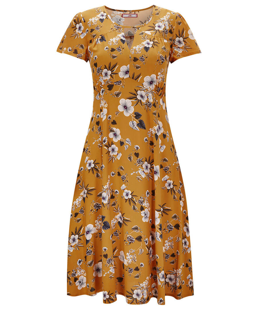 Sweetheart Vintage Style Dress Model Front