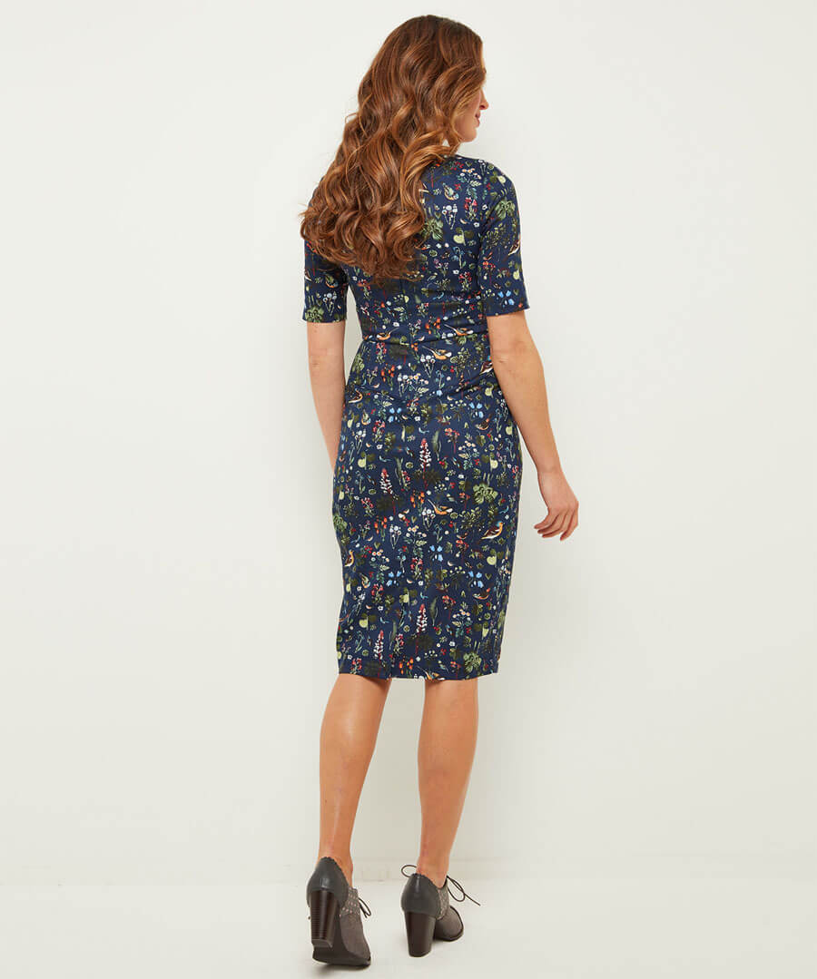 Glamorous Birdy Dress Model Back