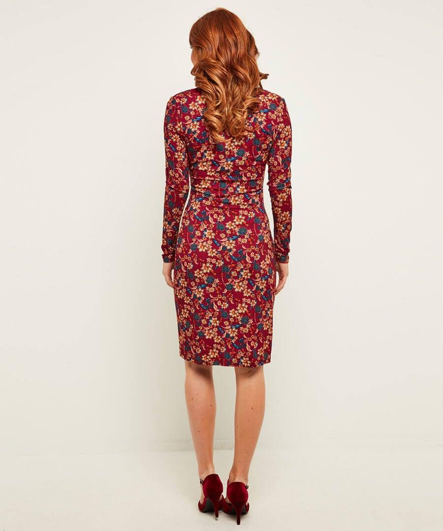 Fabulously Flattering Dress Model Back