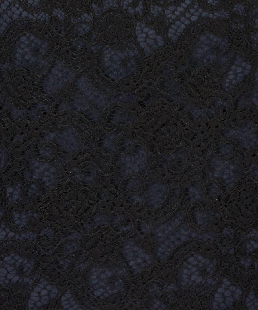 Lustrous Lace Dress Back