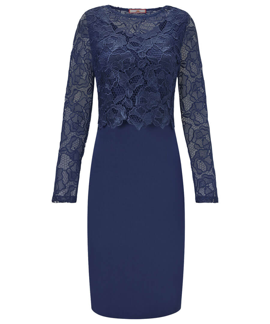 Perfect Lace Dress Model Front